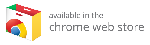 Available in the Chrome web store Image